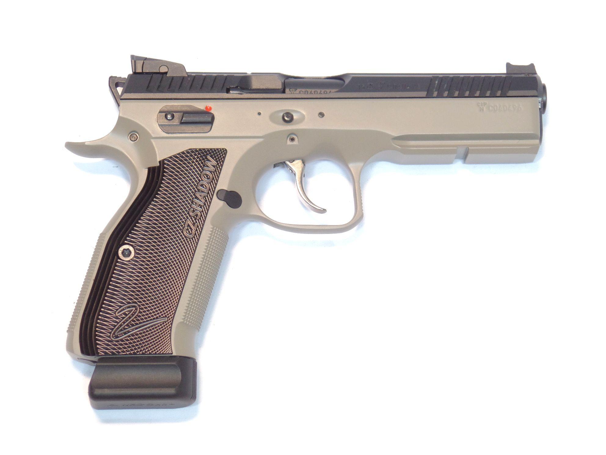 CZ75 Shadow 2 calibre 9para