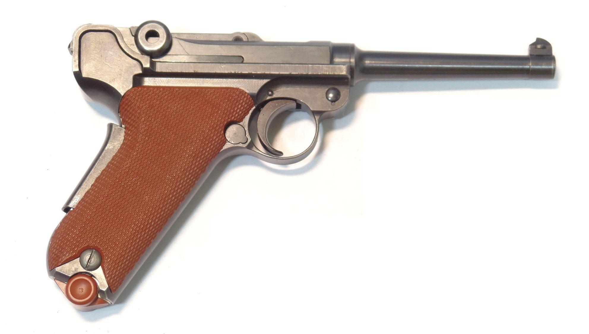 LUGER SUISSE Waffenfabrik Modèle 29 CANEVASITE calibre 7.65 Para