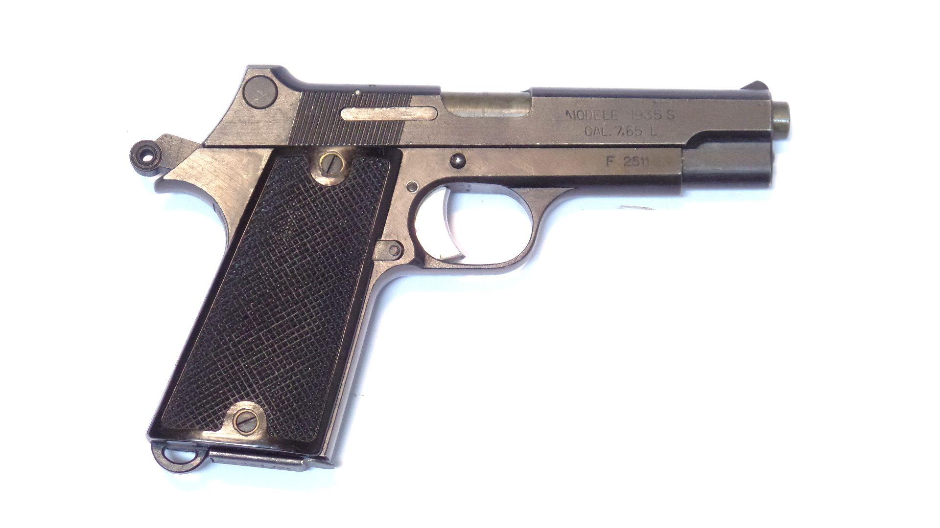 MAS - Modèle 35S calibre 7.65 Long