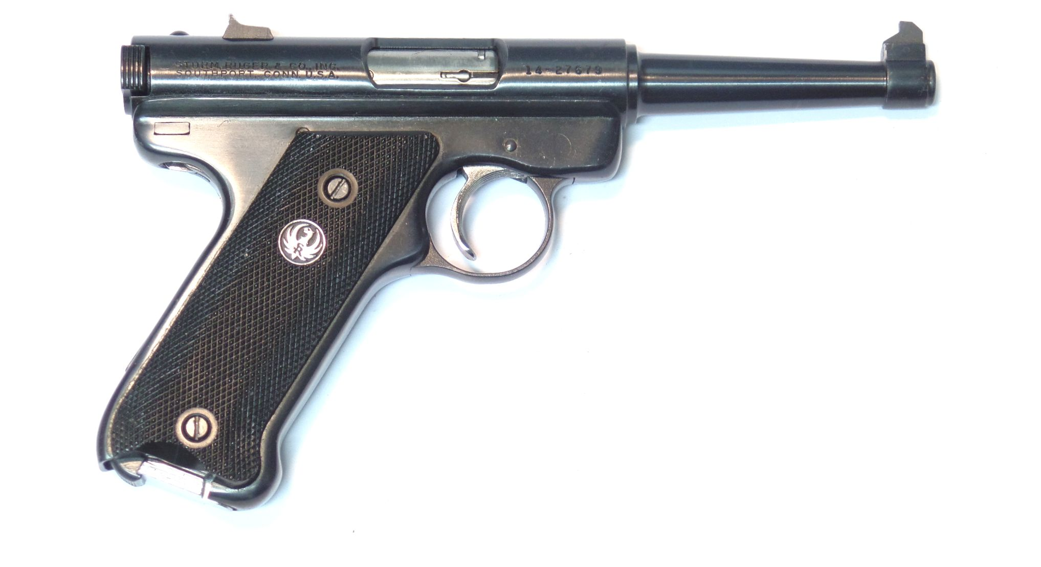 RUGER Mark II calibre 22LR