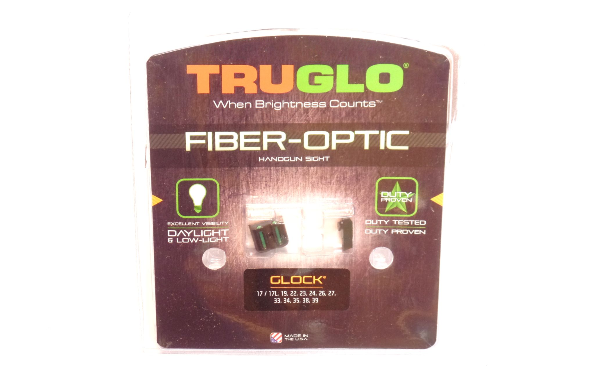 TRUGLO - Ensemble hausse guidon fibre optique