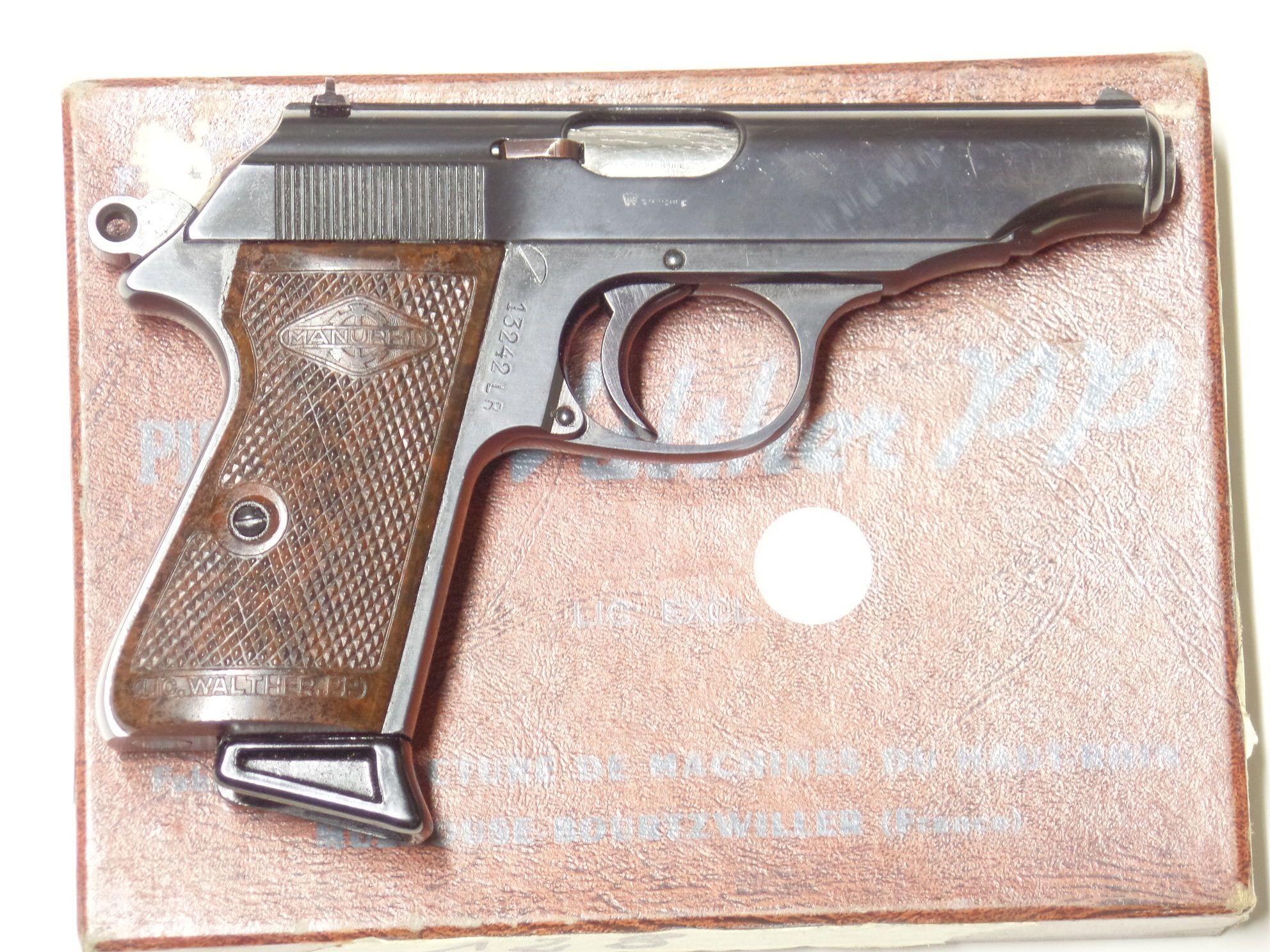 WALTHER MANURHIN PP calibre 22LR