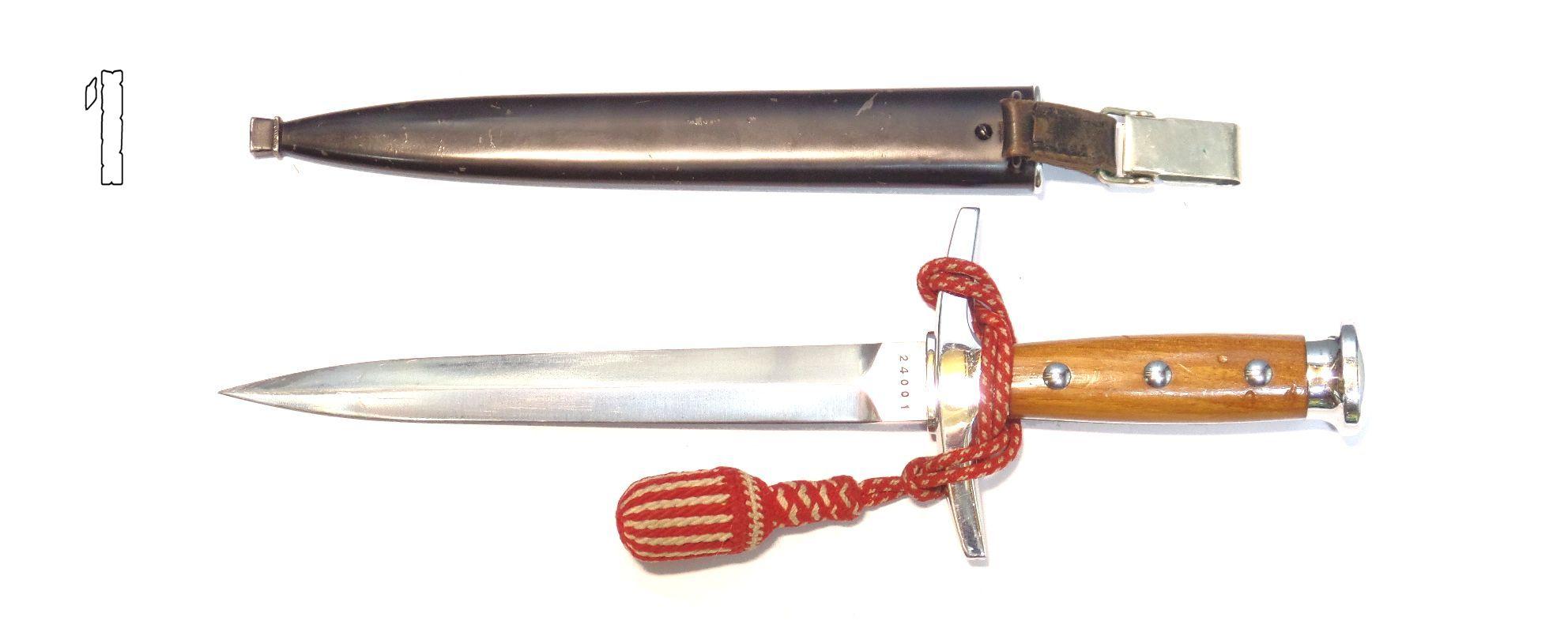 Dague d'officier Suisse Modèle 43