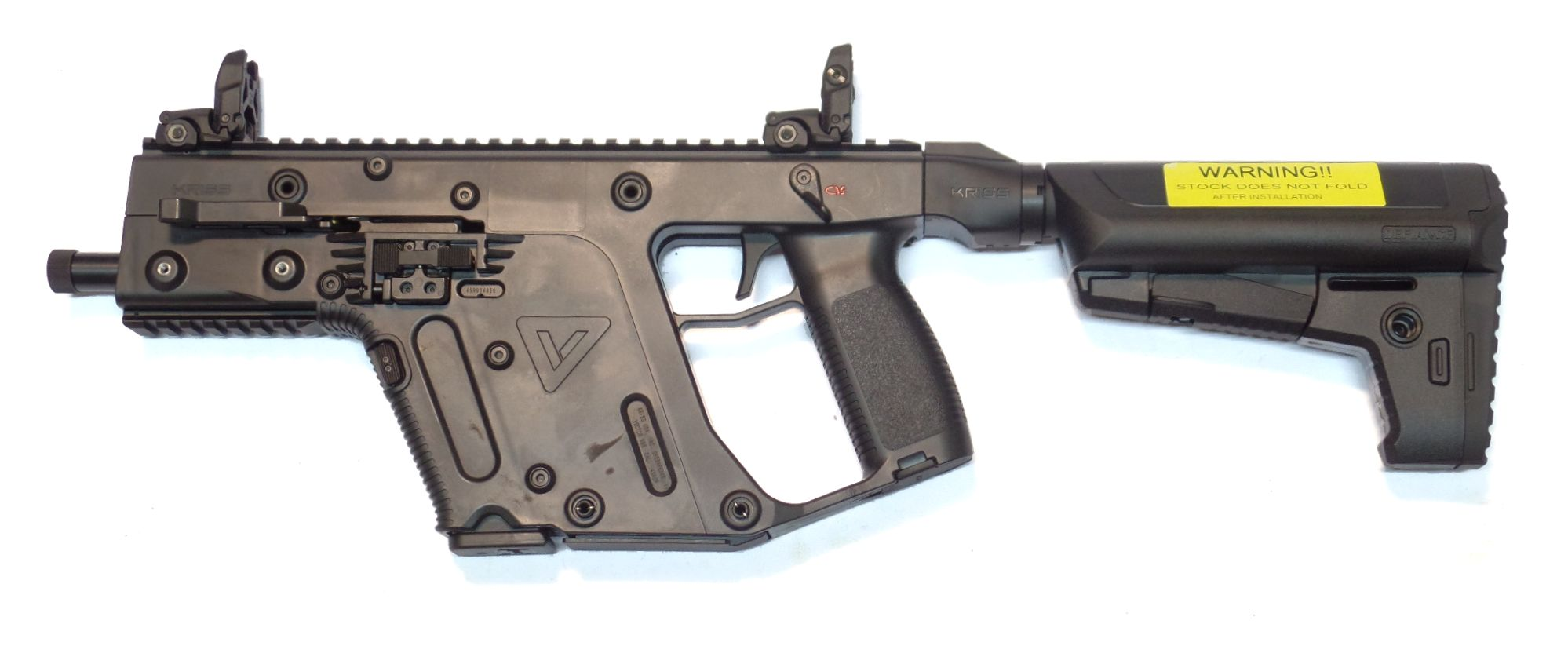 KRISS Vector SBR Carbine calibre 9Para