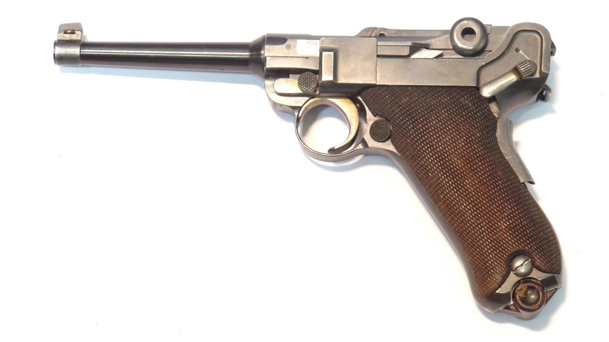 LUGER SUISSE Waffenfabrik Modèle 06-24 calibre 7.65 Para