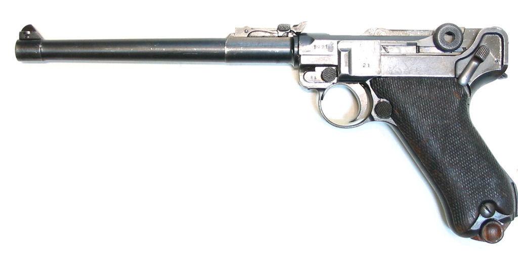 LUGER P08 DWM Artillerie calibre 9Para