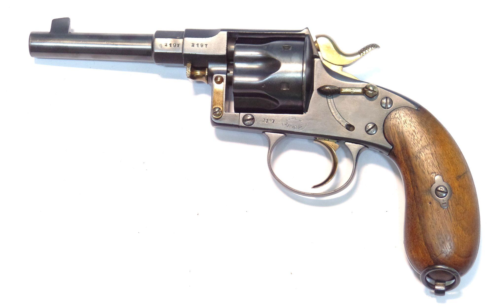 REICHREVOLVER 1883 calibre 11,55mm