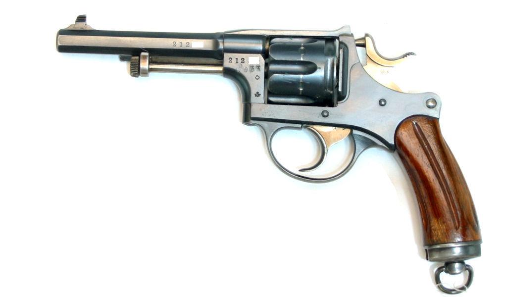 Revolver d'Ordonnance 1882 Waffenfabrik