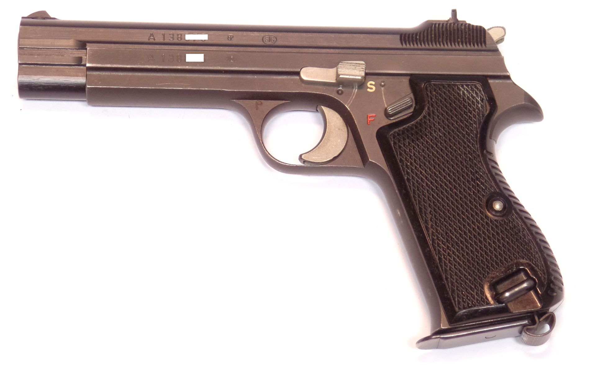 SIG P210-2 calibre 9 Para