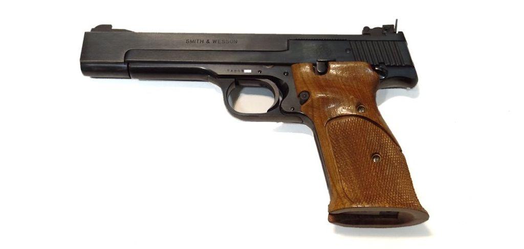 Smith & Wesson Modèle 41 calibre 22LR