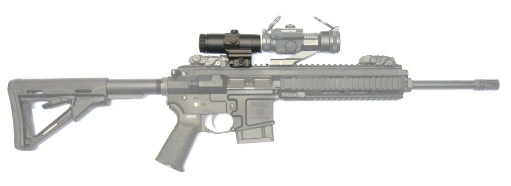 VORTEX Magnifier 3x pour point rouge