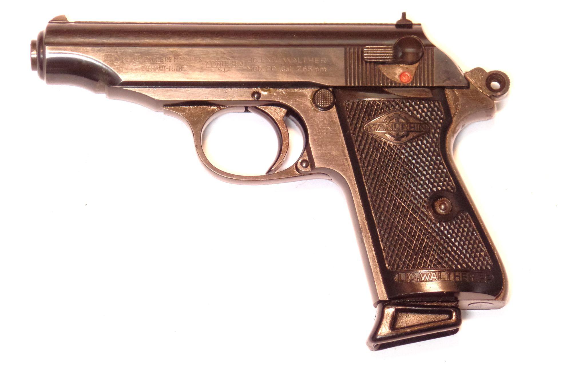WALTHER MANURHIN PP calibre 7.65 Browning