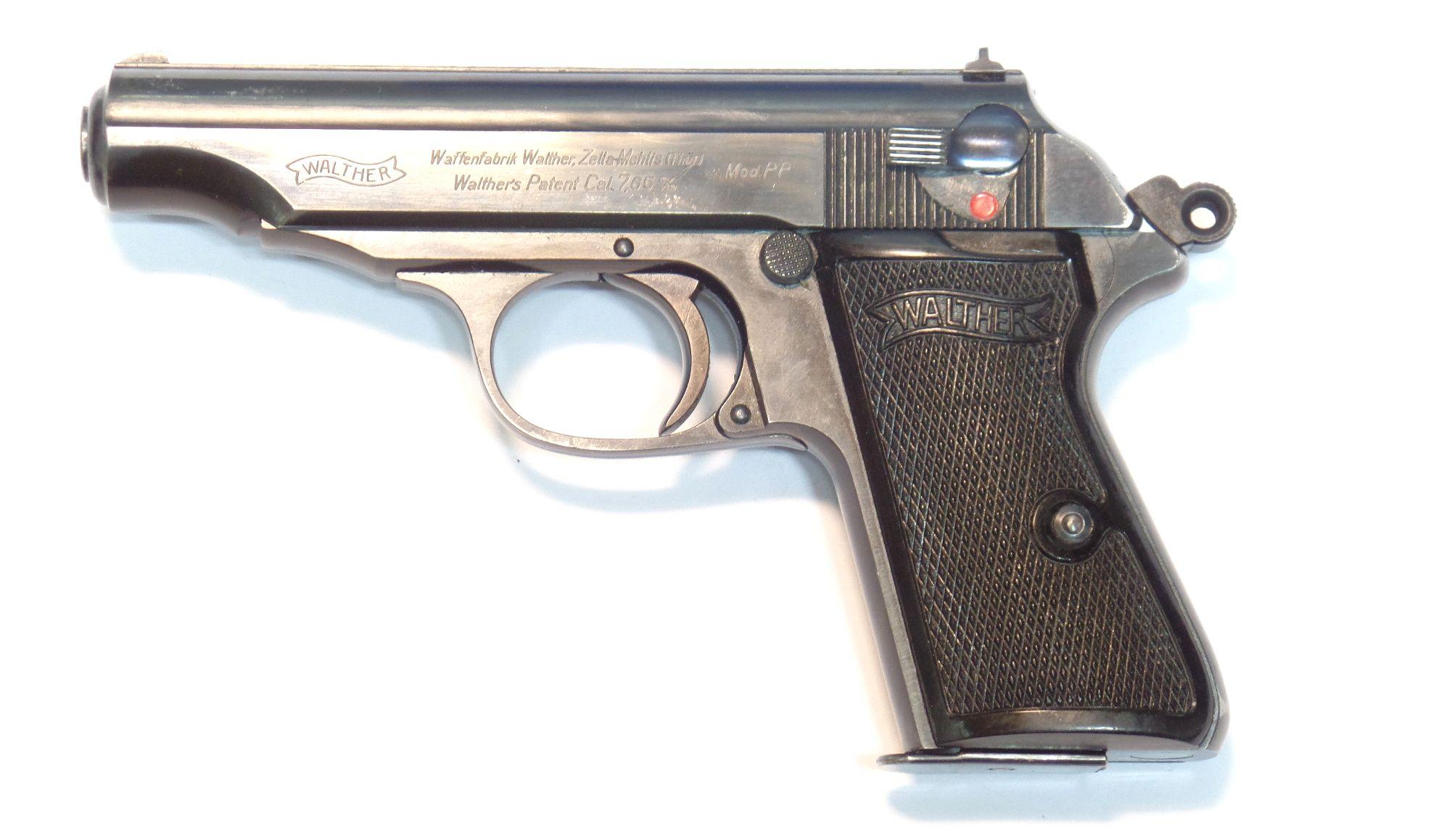 WALTHER PP Zella Mehlis calibre 7.65Browning