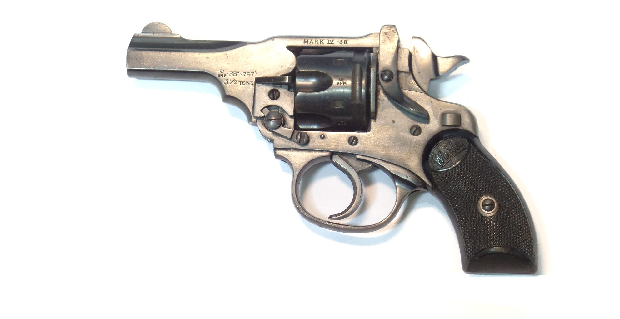 Webley & Scott MkIV Pocket calibre.38SW