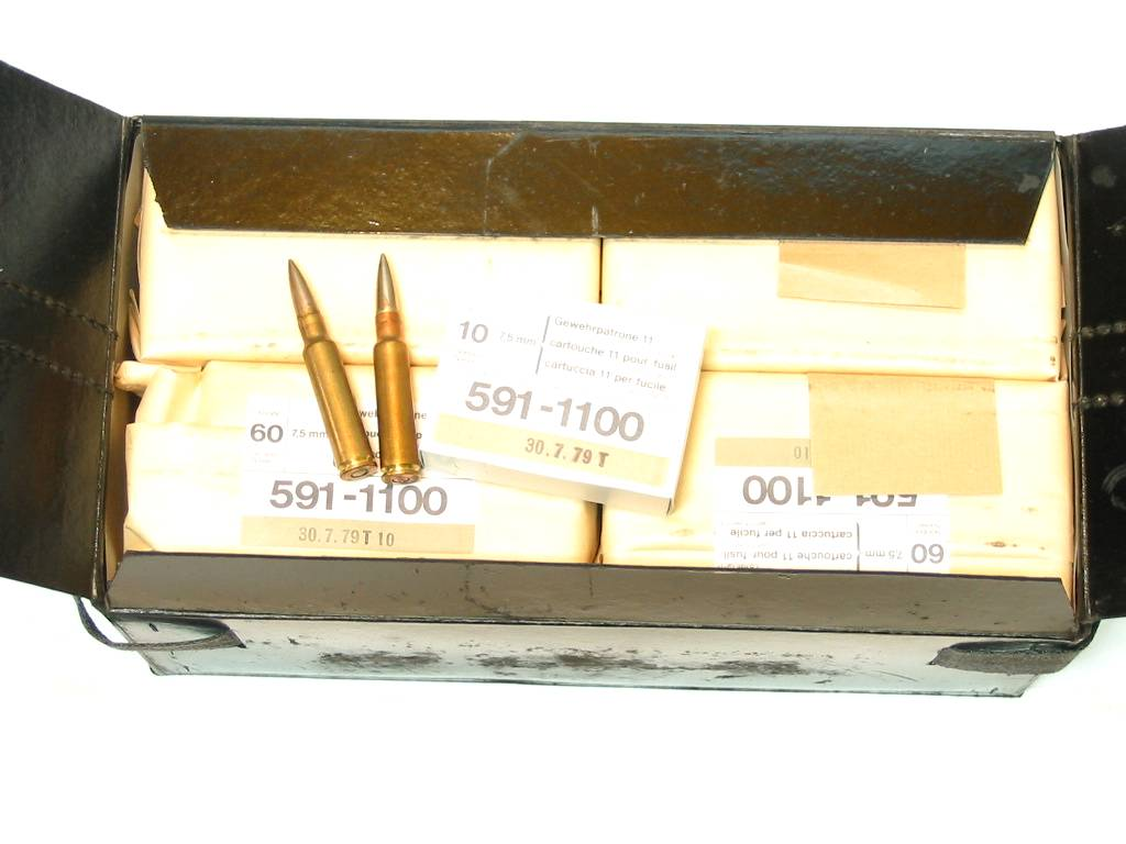 GP11 RUAG calibre 7.5x55 Munitions x480