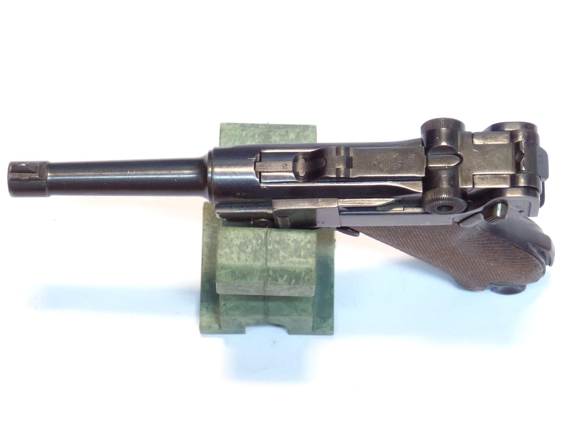 LUGER P08 DWM WEIMAR calibre 7.65Para