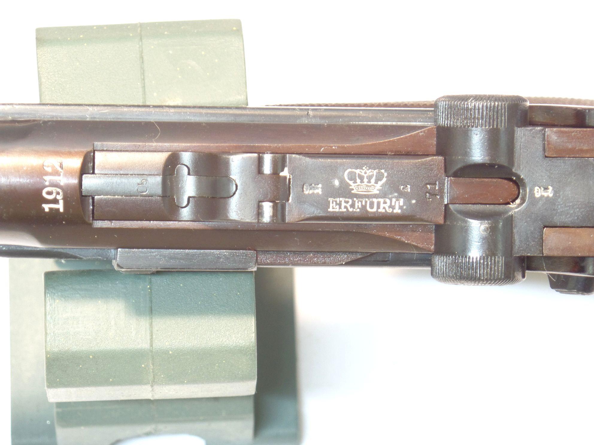 LUGER P08 ERFURT calibre 9Para