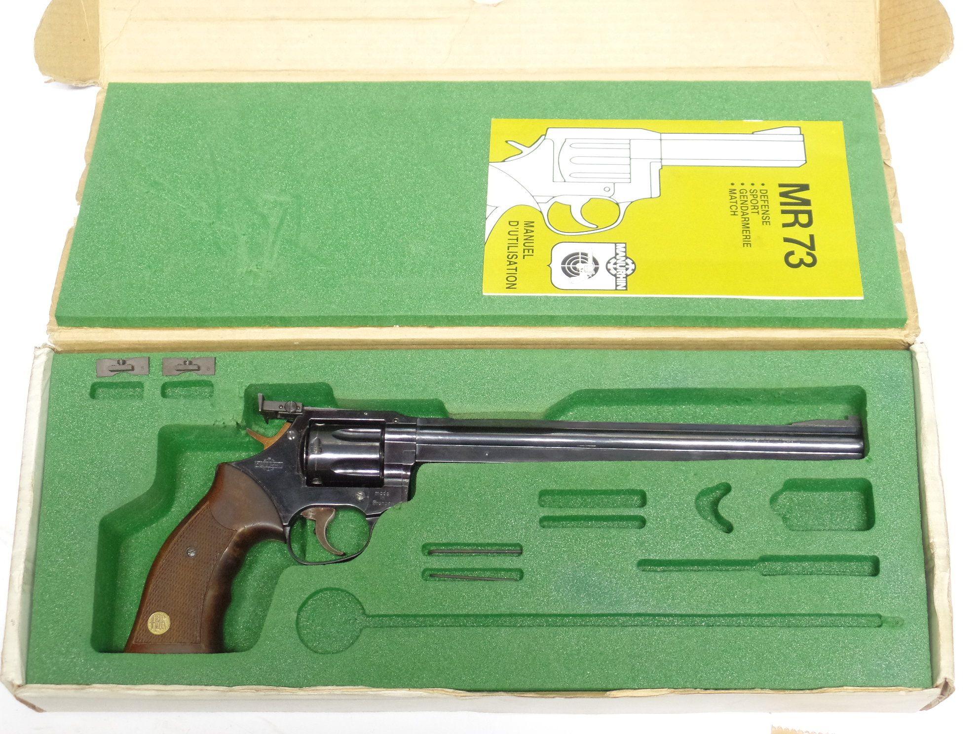 MANURHIN MR73 Silhouette 10 pouce calibre 357Magnum