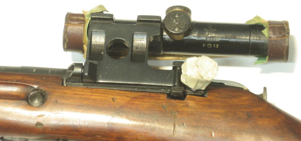 Mosin Nagant - 91-30 Sniper calibre 7.62x54R