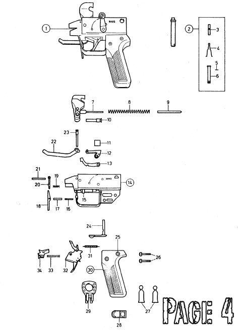 SIG STG57 Pièces détachées - éclaté