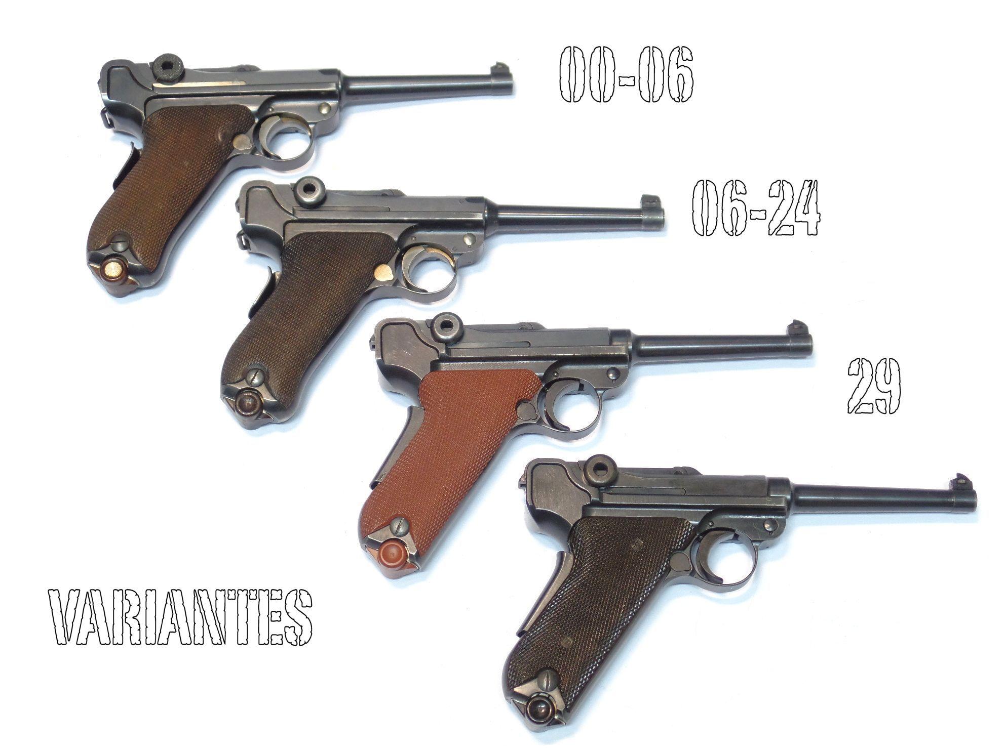 LUGER SUISSE Waffenfabrik Modèle 29 calibre 7.65 Para