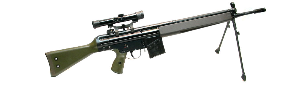 Enfield HK G3/41 calibre .308Winchester
