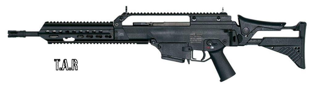 HECKLER KOCH - 243 S calibre 5.56x45
