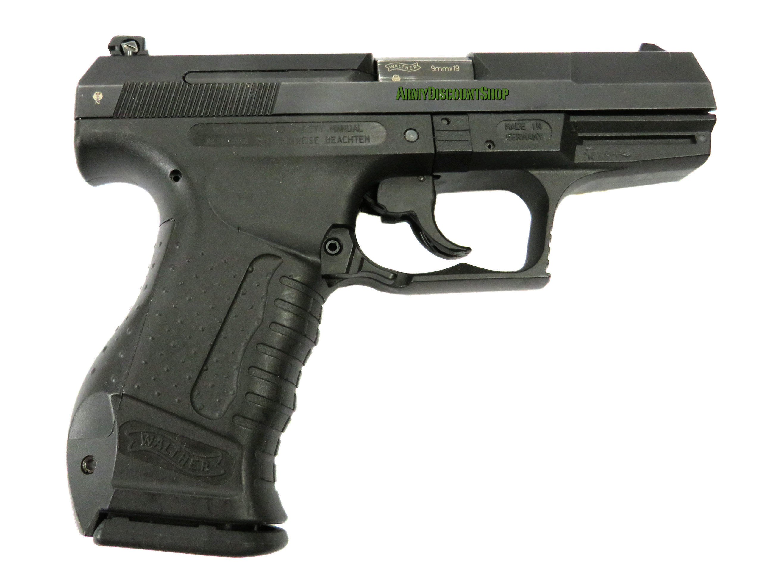 WALTHER P99 calibre 9x19mm