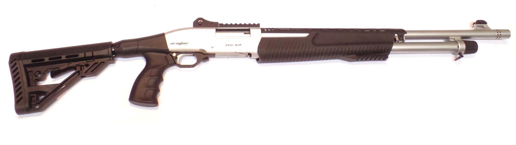 ARMSAN RSX2 MARINE Fusil à pompe canon rayé calibre 12/76