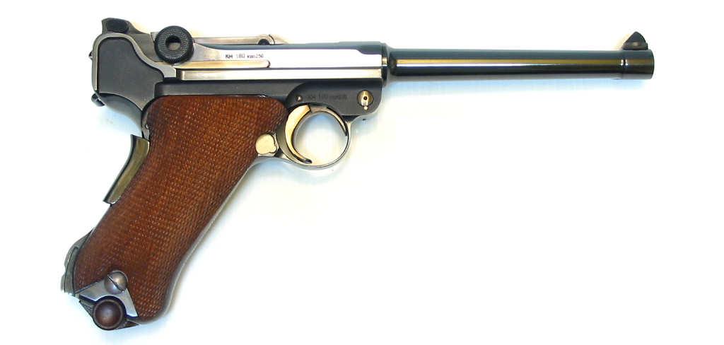 LUGER P08 Marine commémoratif calibre 9Para