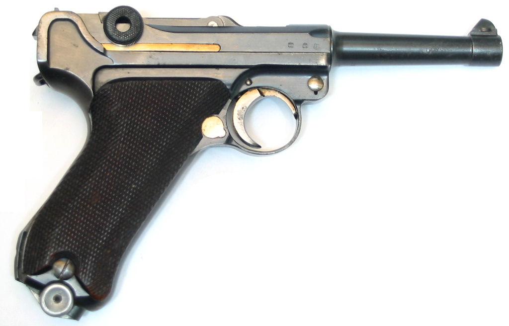 LUGER P08 S42G calibre 9Para