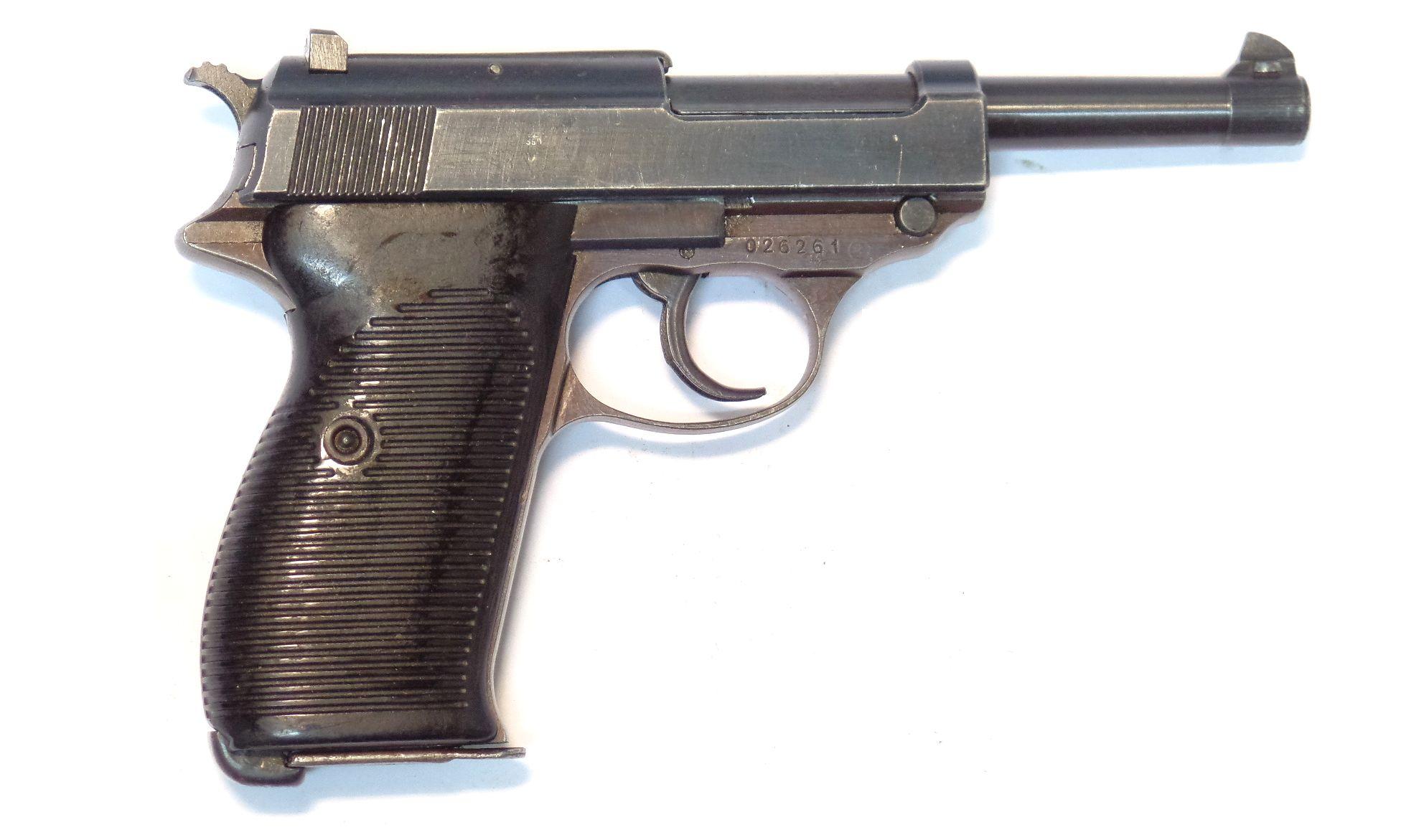 WALTHER - P38 ac45 calibre 9Para