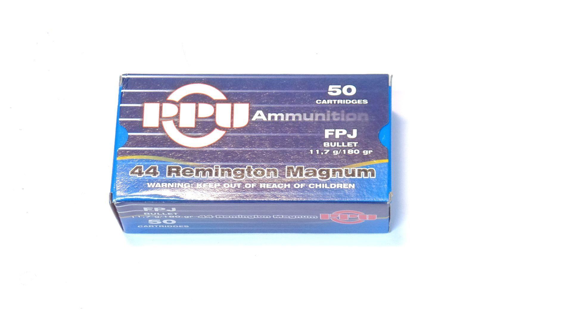 Prvi Partizan PPU calibre 44 Magnum x50
