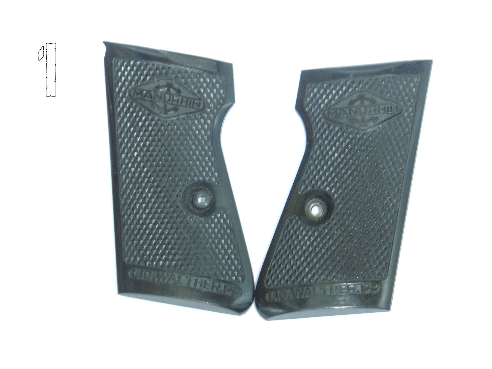 Plaquettes Walther PP / PPK