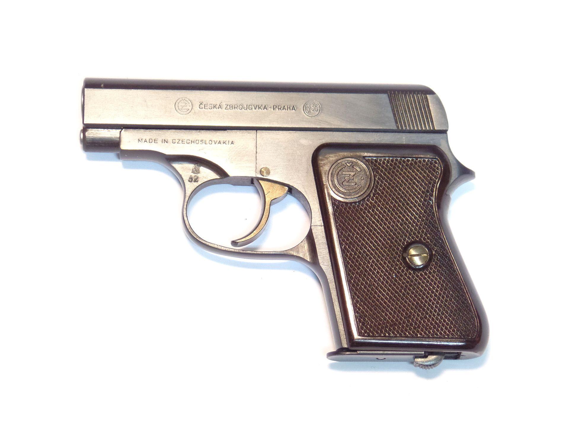 CZ 45 calibre 6.35 Browning