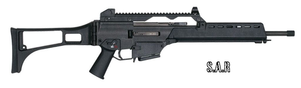 HECKLER KOCH - 243 S calibre 5.56x45