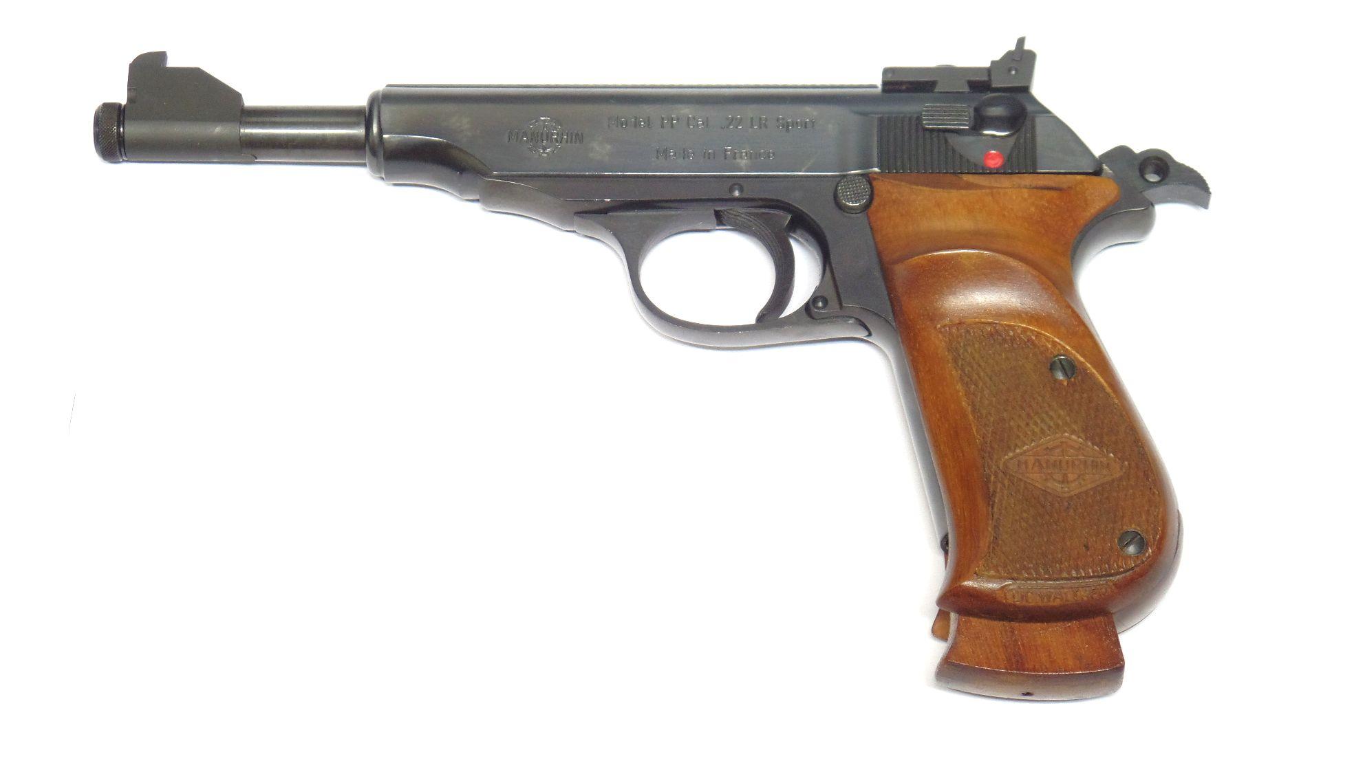 WALTHER MANURHIN PP SPORT calibre 22LR