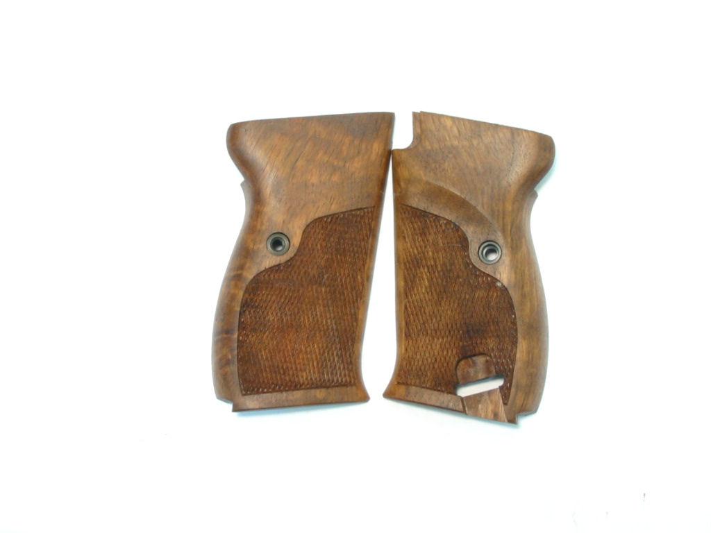 Plaquettes bois pour WALTHER P38