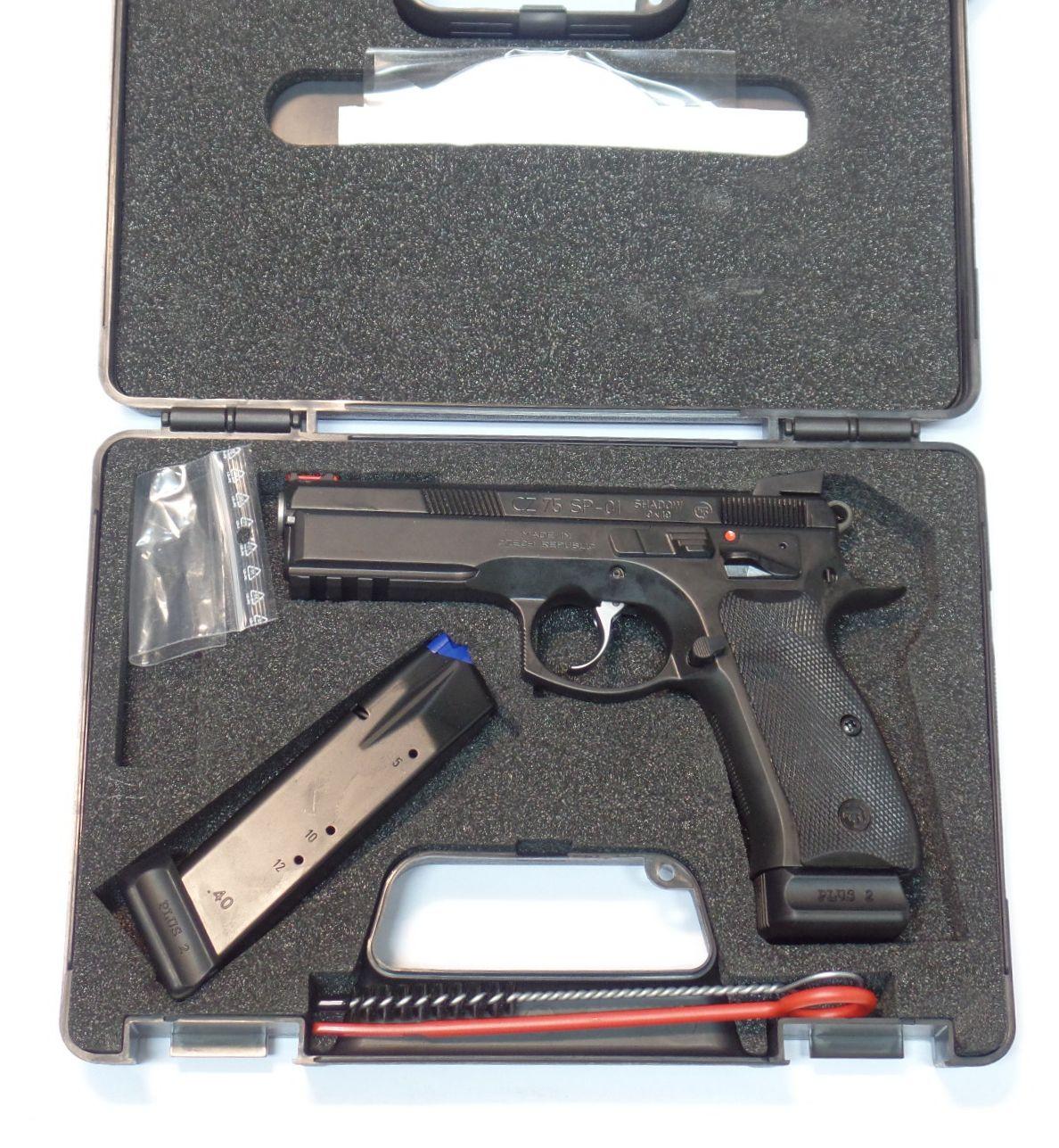 CZ75 Shadow SP01 calibre 9para