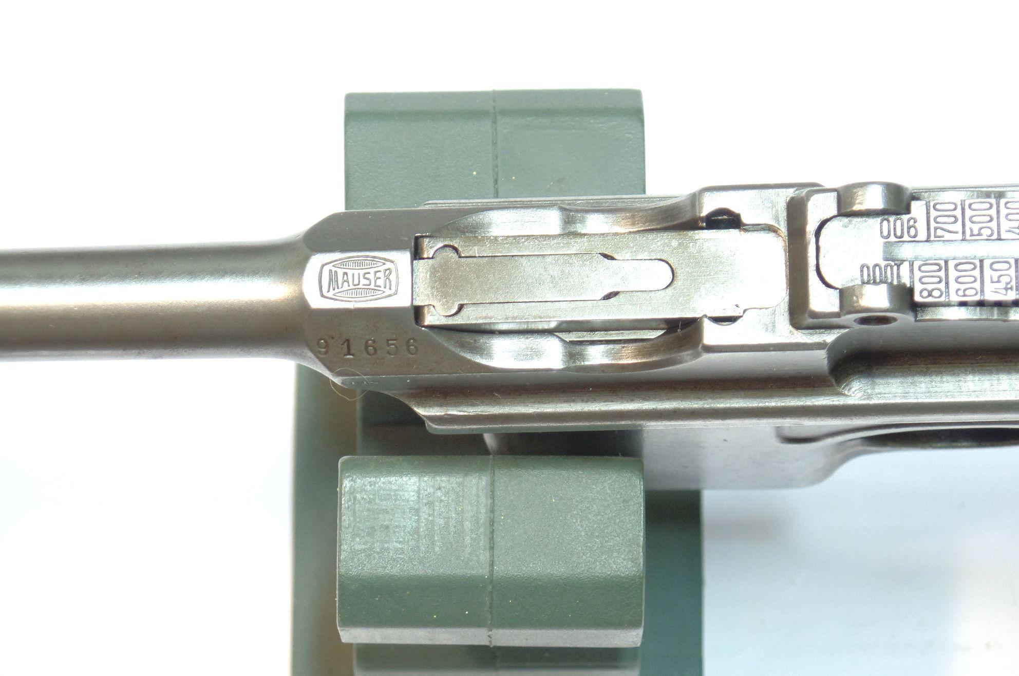 MAUSER C96 calibre 7.63Mauser