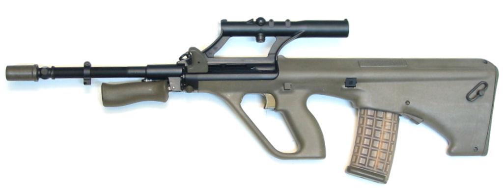 STEYR AUG A2 calibre 5.56x45