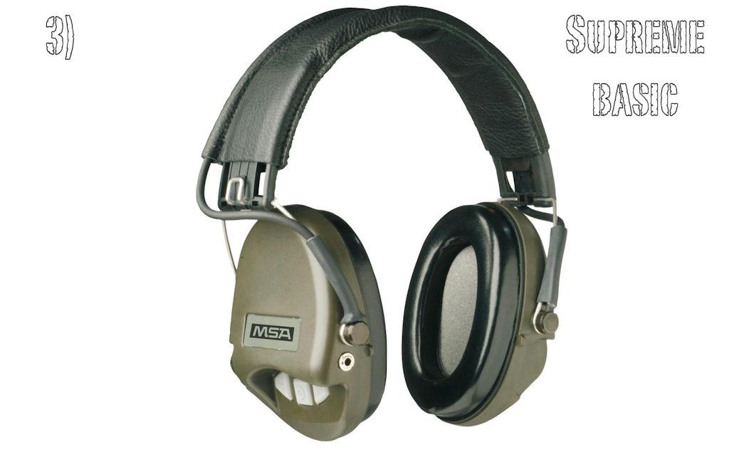 Casques anti bruit msa for Meilleur casque anti bruit passif
